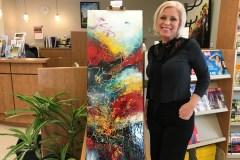 Exposition Signature à l'île d'Orléans: Karina Kelly présente ses oeuvres