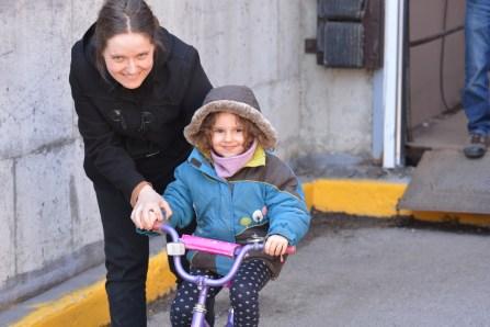 Des vélos font le bonheur des jeunes