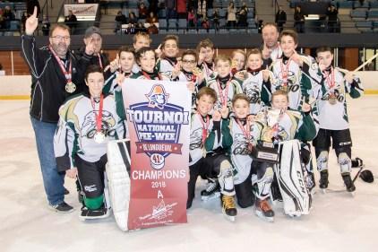 Hockey mineur:Des jeunes de la région s'illustrent
