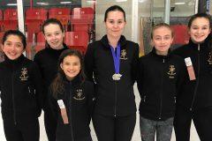 Quelques médailles pour les patineurs de la Côte