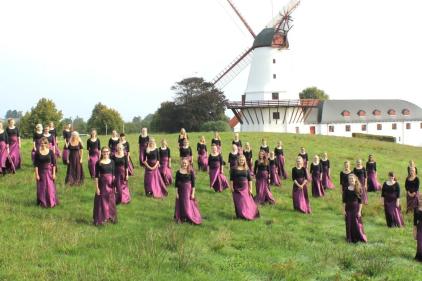Visite d'un chœur danois à Cap-Rouge