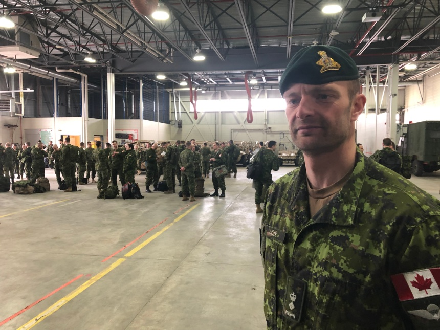 Formation de militaires en Ukraine