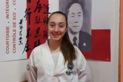 Une première compétition internationale pour Amalia Alberton