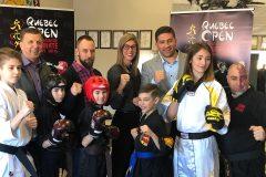 Compétition internationale de karaté à Québec