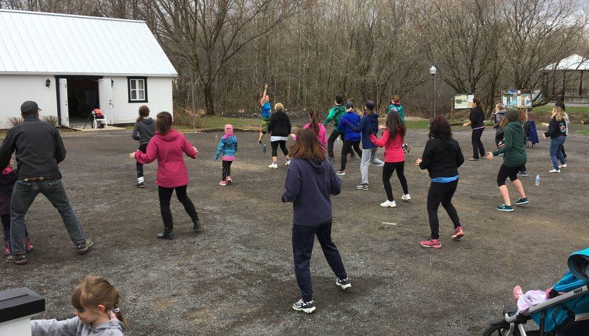 Mois de l'activité physique – Bouger pour garder la forme