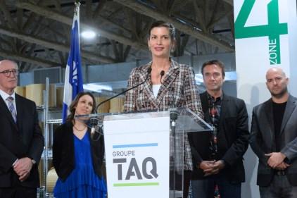 Un nouveau bâtiment pour le Groupe TAQ