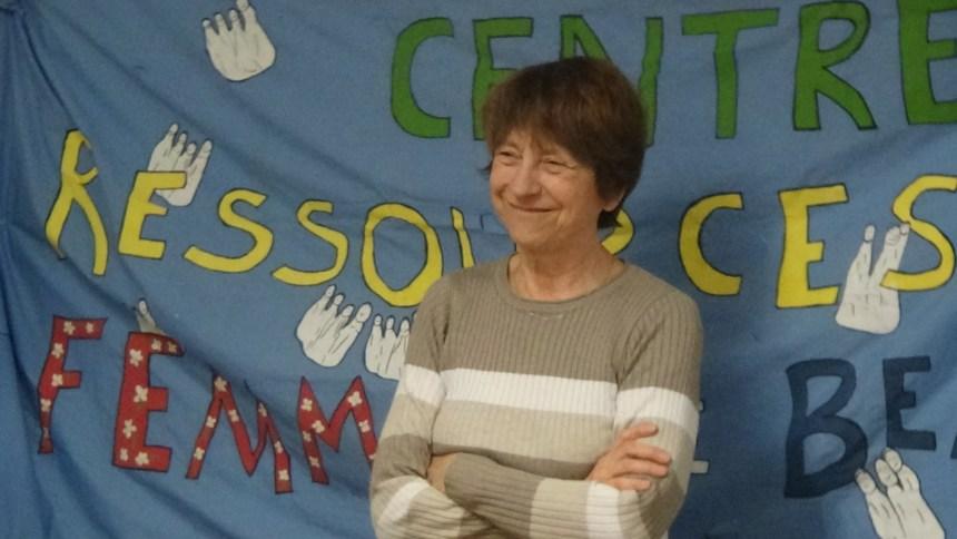 Françoise David visite le Centre ressources de Beauport