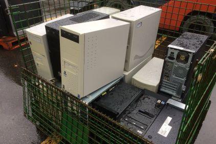 Grand débarras printanier d'appareils électroniques désuets