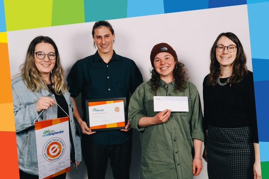 Des lauréats environnementalistes au Gala OSEntreprendre