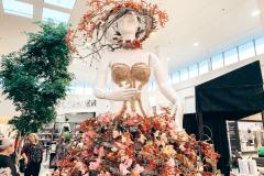 Première œuvre florale pour Silhouette Lingerie