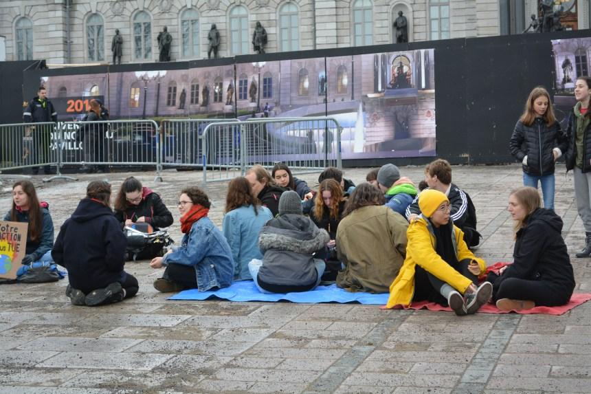 Crise climatique: les jeunes s'unissent pour le futur