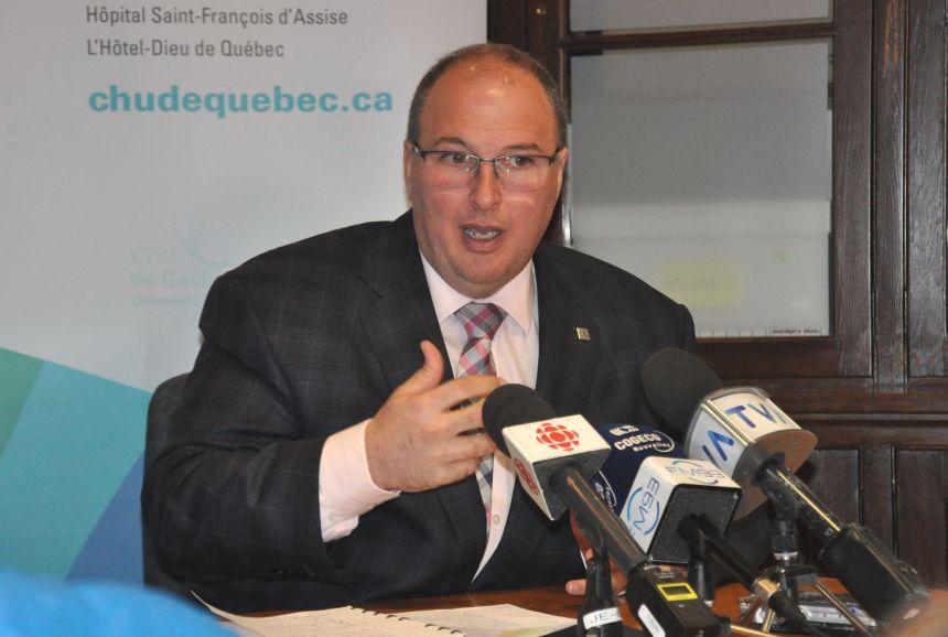 Les défis du nouveau patron du CHU de Québec