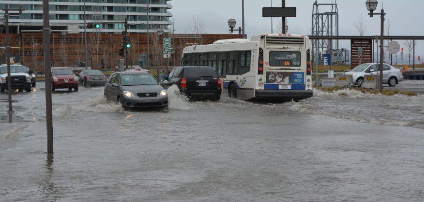 Le Vieux-Port submergé: attention aux marées hautes!