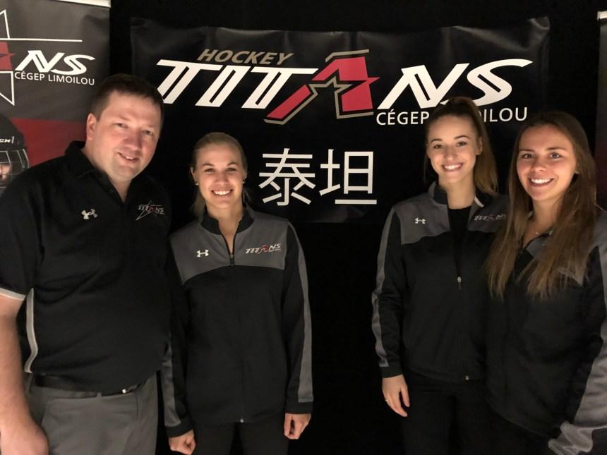 Les Titans en Chine pour promouvoir le hockey féminin