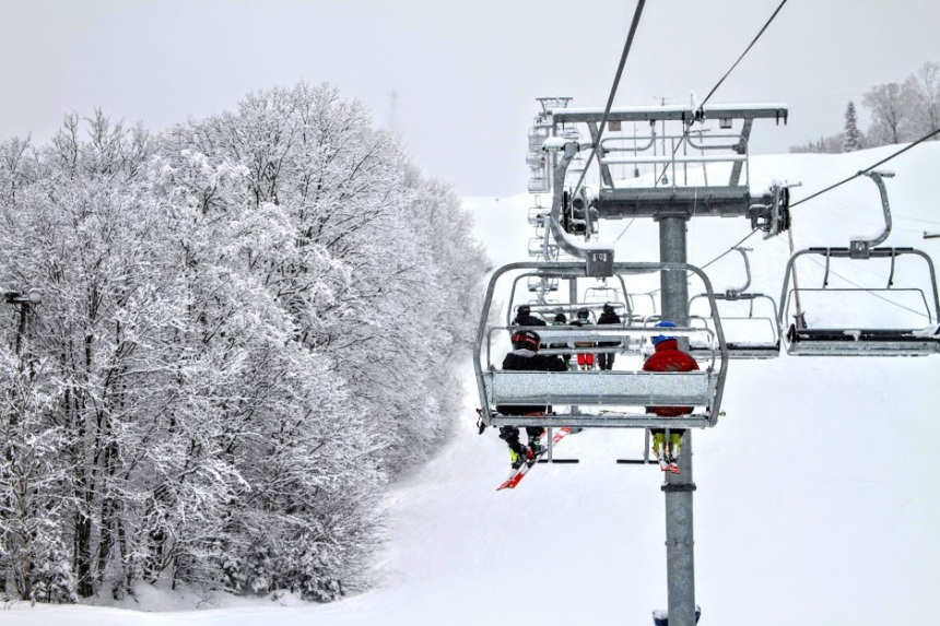 Meilleure saison de neige en 10 ans