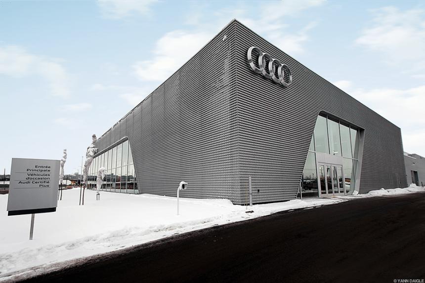 Le Terminal Audi Ste-Foy ouvre ses portes