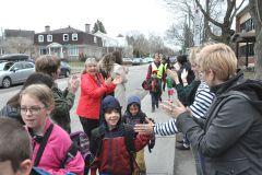 Le Trottibusen marche à l'école Fernand-Séguin