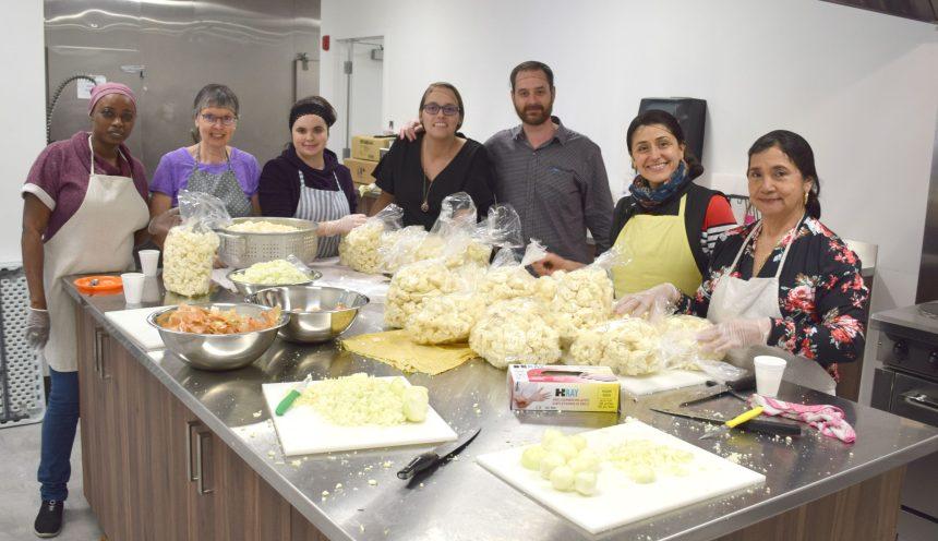 Solidarité familles Duberger-Les Saules inaugure sa nouvelle cuisine collective