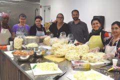 Inauguration d'une nouvelle cuisine collective à Québec