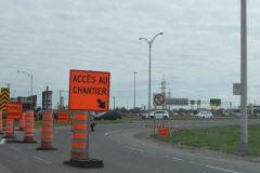 Autoroute Jean-Lesage Ouest – Fermeture de l'accès rue Bouvier