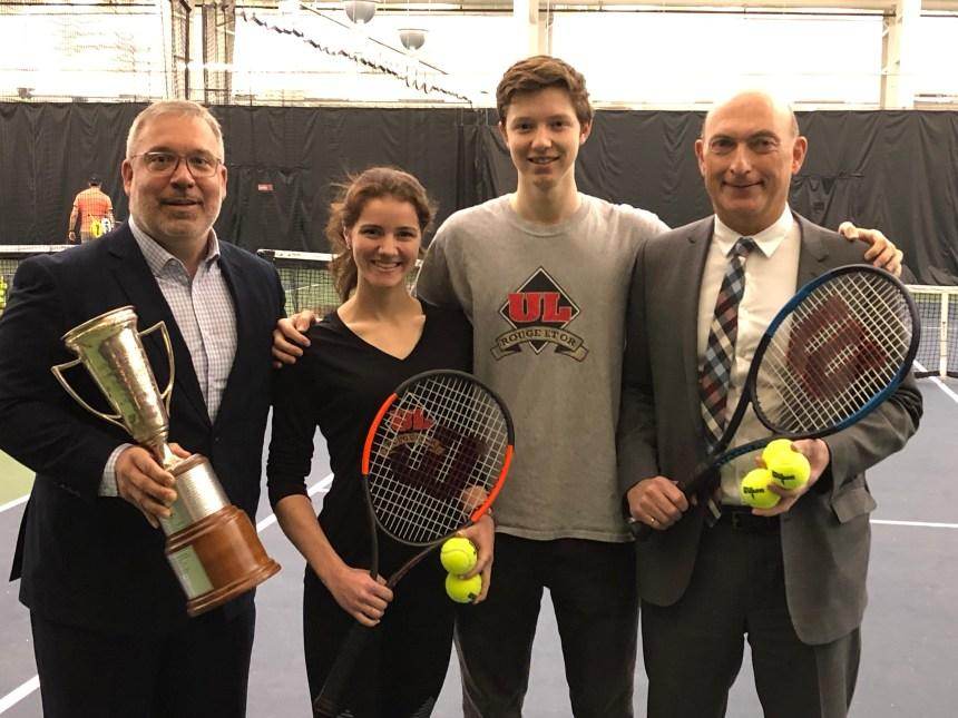 La relève attendue au tournoi de tennis Louis Després Invitation