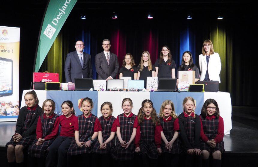 L'Académie Saint-Louis récompensée par Le Code des filles