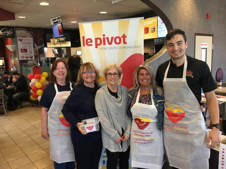 Grand McDon: les McDonald's de Beauport et Le Pivot ensemble pour une deuxième année