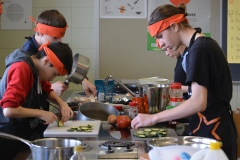 Un défi culinaire à l'École secondaire de La Seigneurie: l'amour de la cuisine n'a pas d'âge