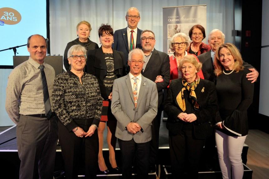 La Fondation Québec Philanthroperemet 306 139$à 111 organismes de bienfaisance