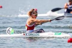Bourse de soutien sportif pour la kayakiste Andréanne Langlois