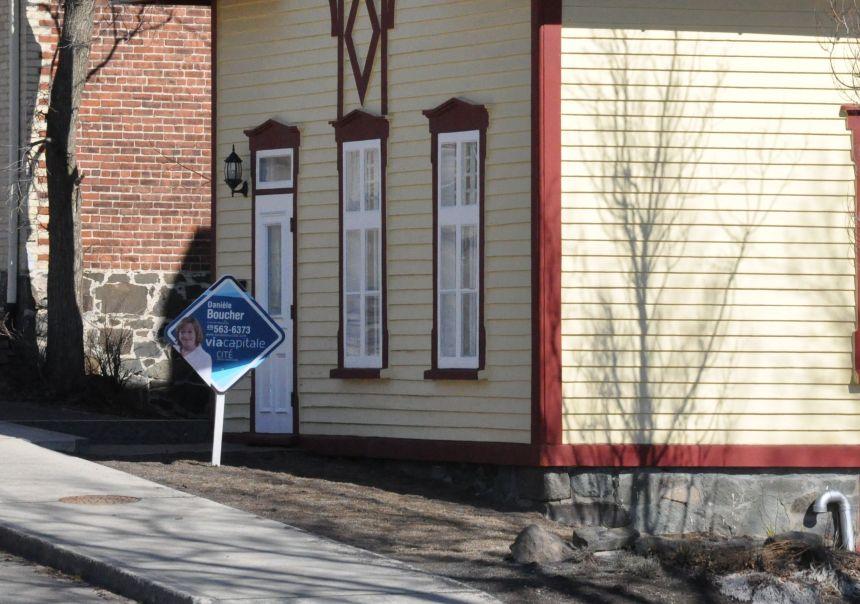 Bond de 12% des reventes résidentielles en avril à Québec