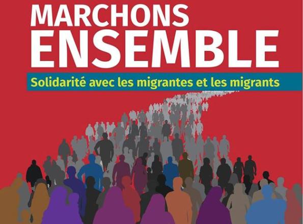 Québec marche en solidarité avec les personnes migrantes
