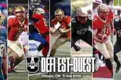 Le Défi Est-Ouest est à nos portes: sept joueurs du Rouge et Or sont invités