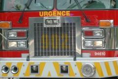 Incendie dans un bâtiment vacant du boulevard Hamel