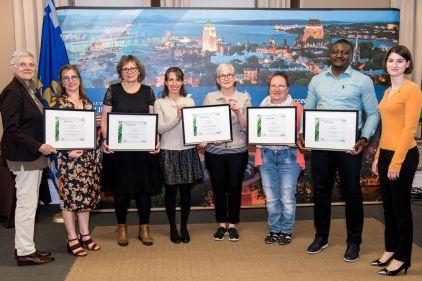 Dévoilement des lauréats des Prix du patrimoine à Québec