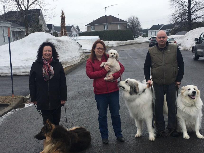 Redorer le blason des propriétaires de chiens: trois Beauportois sont en mission