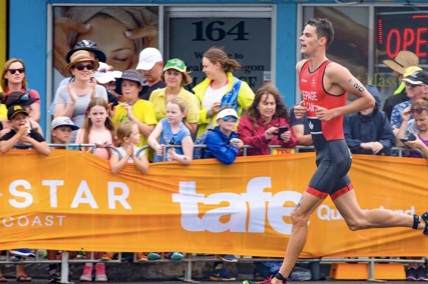 Coupe du monde de triathlon: premier podium pour Alexis Lepage