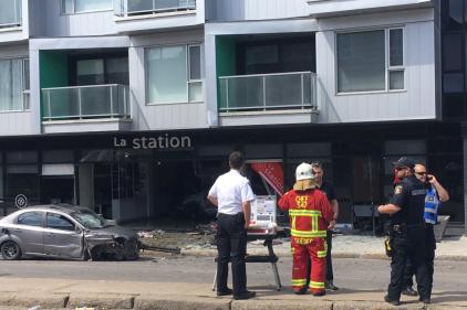 Grave accident au centre-ville