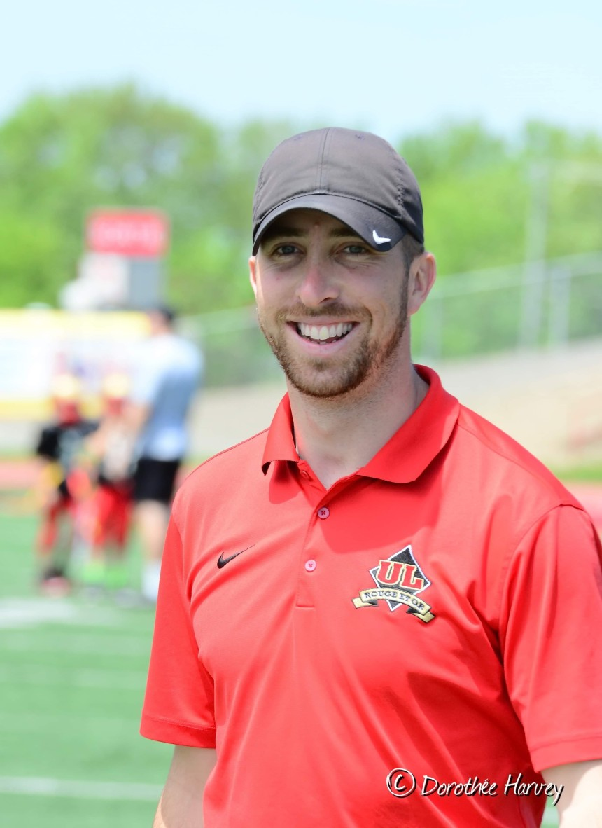 Christopher Auger est le nouveau coordonnateur football de l'Académie Saint-Louis