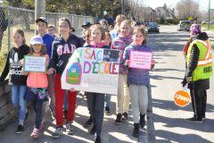 Militantisme précoce:projet humanitaire porteur d'espoir à l'école Les Sources