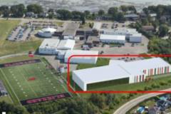 Projet de stade sportif double au SSF