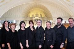 Prestation a capella de Cantus Antiquus à Cap-Rouge