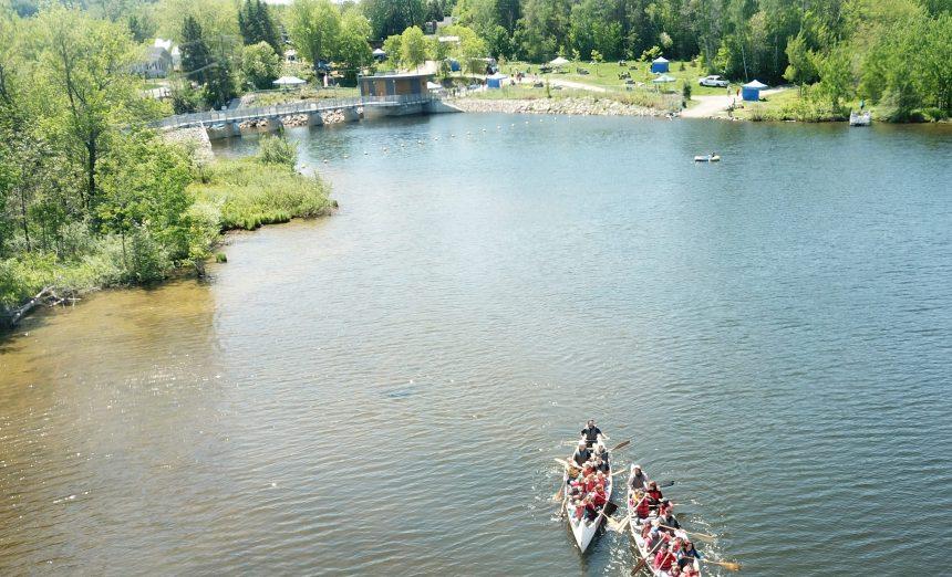 Sentiers et sites mis à niveau au lac Saint-Charles