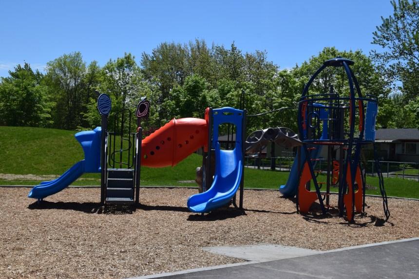 Le nouveau parc Saint-François-Xavier