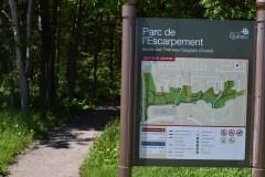 Les 99 hectares du parc de l'Escarpement