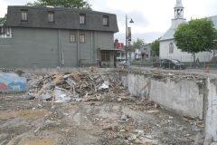Restaurant Sagamité à Wendake – La reconstruction débute