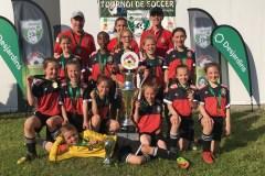 Le Royal de Beauport U10 Féminin division 1 s'impose à Victoriaville