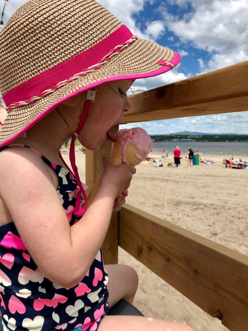 L'été est arrivé à la Baie de Beauport