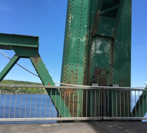 Début des travaux de réfection sur le pont de l'Île-d'Orléans