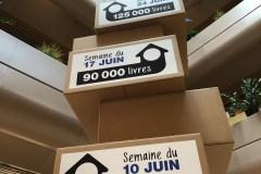 Modernisation de Gabrielle-Roy: 180 000 livres à mettre en boîte